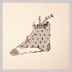Mas zapatos materas. By Maria Andrea Miranda Serna. 2014