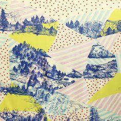 patternandco:    atelier beau travail — Foulard Walden