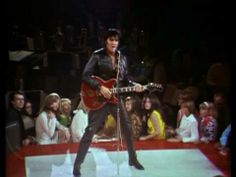 Elvis Presley - Blue Suede Shoes '68, his come back tour... to me this is when Elvis showed his true matured manly-self, in his music and, for the most part, his personal life. For a 'pretty boy' he was one hell of a sexy and talented man!