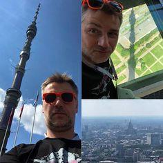 Z góry naszych nie widać... #tvtowermoscow