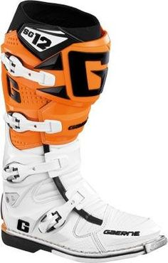 Special Offers - Gaerne SG-12 Motocross Boots  Primary Color: Orange Size: 13 Distinct Name: White/Orange Gender: Mens/Unisex 2160-018-013 - In stock & Free Shipping. You can save more money! Check It (July 31 2016 at 06:34AM) >> http://motorcyclejacketusa.net/gaerne-sg-12-motocross-boots-primary-color-orange-size-13-distinct-name-whiteorange-gender-mensunisex-2160-018-013/