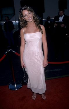 Pin for Later: A Nostalgic Look Back at Celebrities' Earliest Red Carpet Appearances Britney Spears, 1999