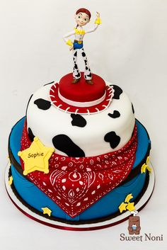 Cowboy Birthday Cakes, Woody Birthday, 2nd Birthday Party Themes, Toy Story Birthday, Birthday Cake Girls, Unicorn Birthday Parties, 3rd Birthday, Jessie Toy Story Costume, Toy Story Costumes