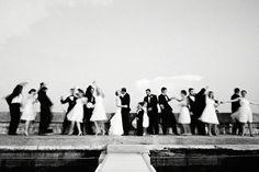 Wedding party by karen