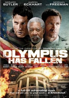 "Olympus Has Fallen - When our flag falls our nation will rise.When the White House (Secret Service Code: ""Olympus"") is captured by a terrorist mastermind and the President is kidnapped, disgraced former Presidential guard Mike Banning (Gerard Butler) finds himself trapped within the building. As our national security team scrambles to respond, they are forced to rely on Banning's inside knowledge to help retake the White House, save the President (Aaron Eckhart) and avert an even bigger…"