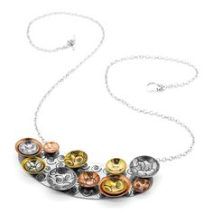 Circles and Swirls Necklace | Fusion Beads Inspiration Gallery