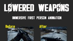 Lowered Weapons at Fallout 4 Nexus - Mods and community Fallout 4 Weapons, Fallout Four, Fallout 4 Mods, Fall Out 4, Community, Fire, Guns, Character, Weapons Guns