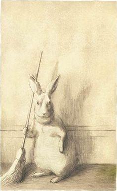 okada-chiaki okada-chiaki.com Bunny Art, Crayon, Rabbit Art, Bunny Rabbit, Funny Bunnies, Snow Bunnies, Year Of The Rabbit, Some Bunny Loves You, Children's Picture Books