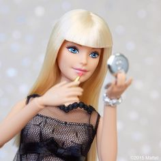 Beauty tip: don't forget to reapply!  #barbie #barbiestyle