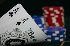 """Commonly known as """"Pocket Aces,"""" the best starting hand in Texas Hold'em has a variety of nicknames.  My two favorites are """"Bullets"""" and """"Rockets."""""""