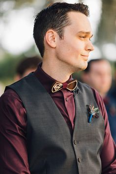 Groom with superman bowtie Jewel Toned Wedding at Ever After Farms - Orange Blossom Bride - Orlando Weddings #orlandowedding #barnwedding #jewelwedding #groom Wedding Groom, Farm Wedding, Groom And Groomsmen Looks, Groomsmen Socks, Jewel Tone Wedding, Orlando Wedding, Groom Attire, Orange Blossom, Suit And Tie
