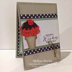 Melissa Davies - bee divine designs - watermelon choc top