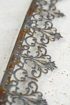 Metal Trim Ribbon Victorian Trim x 15 FT Save On Crafts, Diy And Crafts, Arts And Crafts, Metal Crown, Metal Trim, Metal Crafts, Wood Crafts, Scrap Metal Art, Passementerie