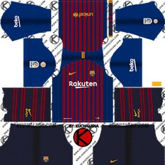Barcelona Nike kits for Dream League Soccer and the package includes complete with home kits, away and third. All Goalkeeper kits are also included. This kits also can use in First Touch Soccer 2015 Barcelona Football Kit, Barcelona Third Kit, Barcelona Nike, Psg, Juventus Soccer, Real Madrid Home Kit, Iran National Football Team, Barcelona Champions League, Liverpool Kit