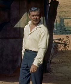 "Clark Gable in ""The King and Four Queens"""