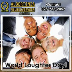Today we celebrate World Laughter Day! World Laughter Day is celebrated on the first Sunday in May. Remember to have a laughing Sunday! Happy World Laughter Day everyone! #WorldLaughterDay