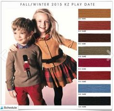 DESIGN OPTIONS F/W 2015- PLAY DATE
