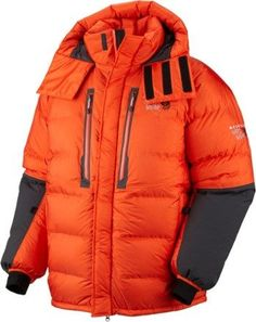 Mountain Hardwear Men's Absolute Zero Parka State Orange/Shark XL
