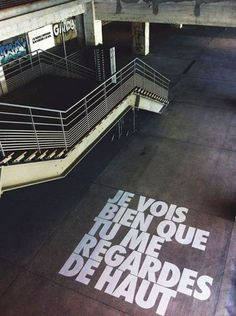 Jeu typographique inkulte-Benjamin-Isidore-Juveneton Typography would be the skill and a style of writing style and Think Tank, Street Marketing, Street Art Graffiti, Land Art, Street Artists, Urban Art, Installation Art, Signage, Art Photography