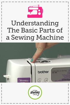 Understanding the Basic Parts of a Sewing Machine | NSC