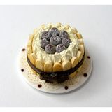 Champagne Chocolate Truffles Charlotte Cake