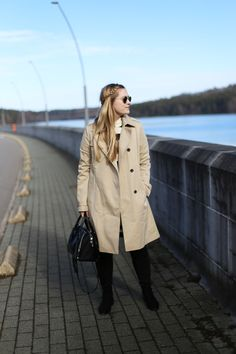 I'm deeply in love with the French Chic and the ability of French women to always look flawless. My personal take on the french chic incorporates a trench and stripes: http://jillepille.com/french-chic-outfit/