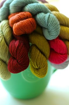 Bouquet of yarn, I want this for my anniversary instead of flowers!