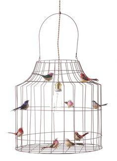 Hanglamp Vogelkooi L? De leukste Hanglampen voor de kinderkamer bij Saartje Prum.
