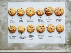 The Ultimate Cookie Quest : What makes the perfect chocolate chip cookie