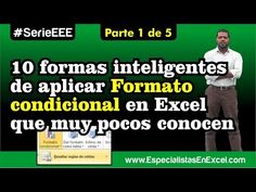 Excel Facil Truco #74 P1: Formato de Fecha Personalizado y Formato Condicional - YouTube