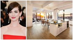 Anne Hathaway's NYC Apartment went on sale earlier this year (2014). Apparently she never lived in it but used it as a place to hang her extensive wardrobe of designer clothes. What a shame.
