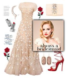 """A bridesmaid rose"" by nineseventyseven ❤ liked on Polyvore featuring GEDEBE, Burberry, Dsquared2, Cristina Ortiz, Kendra Scott and alwaysabridesmaid"