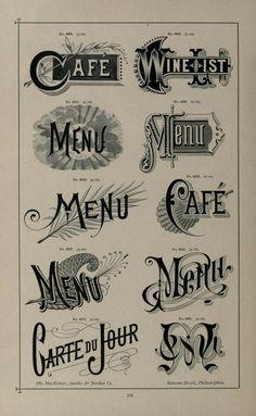Specimens of printing types : ornaments, border...