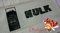 Dhebyart: Toalhinha Hulk