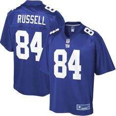 3958a524f38e3a Alonzo Russell New York Giants NFL Pro Line Big & Tall Player Jersey – Royal