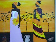 Resultado de imagen para imagenes de negras africanas para pintar