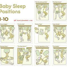 Familienbett: 10 typische Schlaf-Positionen, die alle Eltern kennen