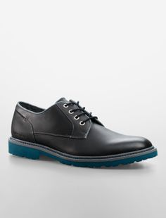 calvin klein jeans quilliam leather shoe
