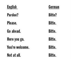 German Is Easy via Mary Clara White