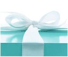 Tiffany....  Someday a Tiffany box will be in my hands, given to me by a man... That man I will marry.