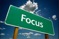 Focus is the hallmark of any business. What are you focusing on? Some thoughts on how focus can help your build your MLM business.