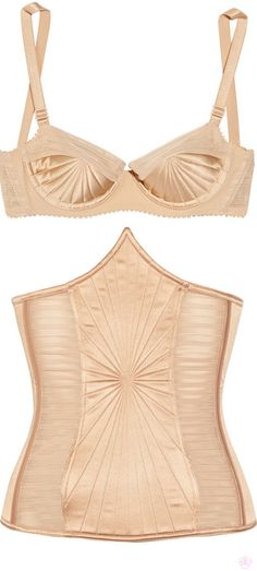 Deco-esque Gaultier for La Perla