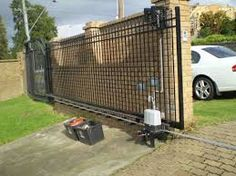 Awesome Design For Automatic Gate Openers Ideas Using Remote Controlled Gates With Sliding Gates And Brick Wall Gates Automatic Gate Openers Automatic