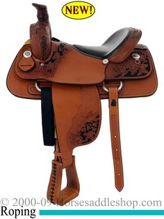 colorful pictures of western saddles | 16inch Dakota Penning Roping Saddle FQHB USA Made 9555