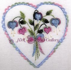 ♥JDR Brazilian Embroidery Designs - so easy, they put everything together for you so all you have to do is hoop and go!!