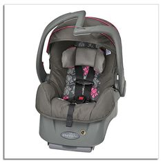 The Evenflo Embrace DLX Infant Car Seat combines safety, comfort & ease with exclusive convenience features for you. With the exclusive light-weight design, Baby Girl Car Seats, Baby Car Mirror, Baby Canopy, Baby Safety, Reborn Babies, My Baby Girl, Baby Gear, Baby Shop, Baby Strollers