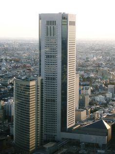 TokyoOpera City shinjyuku tokyo / Skyscrapers・超高層ビル
