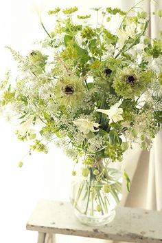 Bouquet champetre green