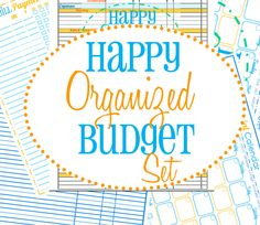 Budget and bill pay printables!