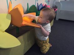 Immerse yourself in the sensory pod at the V&A Museum of Childhood. There's more than enough stuff to keep them occupied while you work through your existential crisis